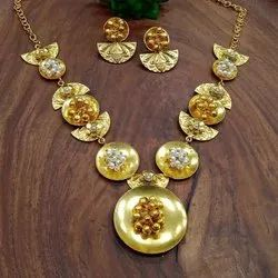 Pan India Gold Antique Jewellery, Size: Free