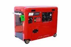 1ph Silent Petrol Generator, For Power, 7kw