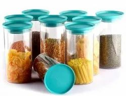 PRAMUKH Plastic 1400 ML Airtight Container, Packaging Type: Box, Round