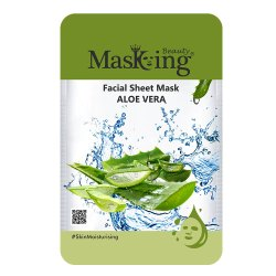 MASKING BEAUTY - ALOE VERA FACIAL SHEET MASK