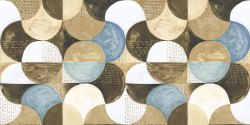Bluecera Gloss Multicolor Ceramic Wall Tiles, Size: 600x300mm, Thickness: 8 - 10 mm