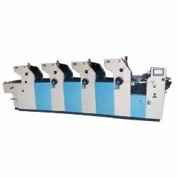 Stainless Steel Multi Color Offset Printing Machine