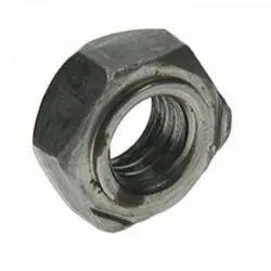 Round Stainless Steel SS 304 Hexagon Weld Nut, Size: M6- M50