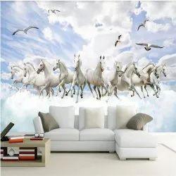Living Room 3D Wallpaper