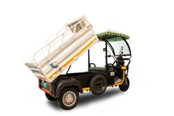 Mini Metro White E-Rickshaw Loader