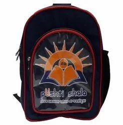 School Name Printed Backpack Bag