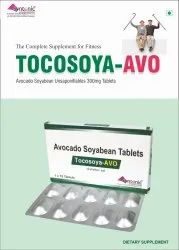 Allopathic Only Brand Avocado Soyabean Unsaponifibales 300mg, Packaging Size: 10x10