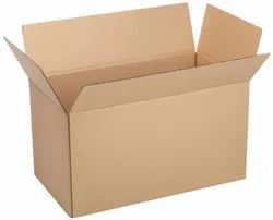 Brown Plain 5 Ply Rectangular Corrugated Box, Size(LXWXH)(Inches): 15 X 10 X 8 Inches