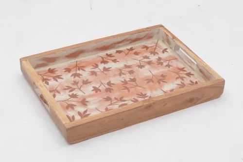 Wooden Printed Tray