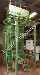 ESSARGSM Automatic Coir Pith Grow Bag Slab Making Machine, 220 V, Capacity: 250-280