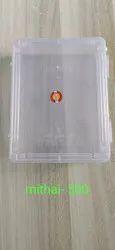 Plastic Mithai Box 500 gm