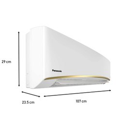 Panasonic 1.5 Ton 3 Star Inverter Split AC (Copper, CS/CU-KU18WKY-1, White, Eco Tough Casing)