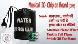 Attention Please Water Tank Is Full Please Switch Off The Motor Sound Voice COB IC