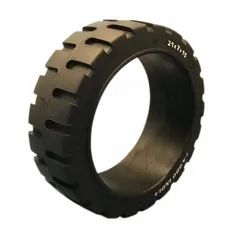 14 X 4 1/2 X 8 Press On Band Forklift Tire
