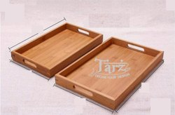 Wooden Serving Tray- 02 ( Set of 2 )