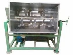 Stainless Steel Chemical Powder Mixer Machine, For Mixing, Automation Grade: Automatic