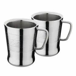 Double Wall Stainless Steel Tea & Coffee Mug (Milano)