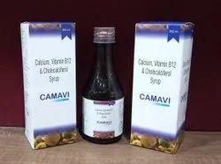 Calcium, Vitamin B12 And Cholecalciferol Syrup