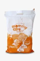 Nonwoven Pant Diapers Mommy Care Baby Diaper Pants, Large ( 9 - 14 Kg)
