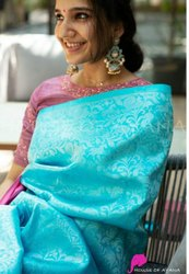 Lichi Silk Designer Saree