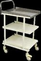 ECG TROLLEY WITH SHELVES - 50-6100 ES