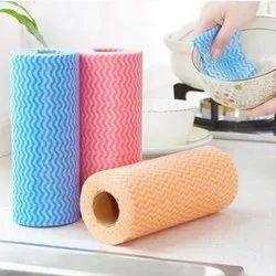 Multicolor Non Woven Kitchen Rolls
