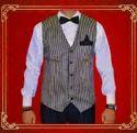 2-piece Suit Party Men Waistcoat