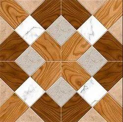 Multicolor 3054 Digital Porcelain Digital Floor Tiles, Thickness: 5-10 mm, Size: 60 * 60 in cm