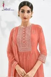 Eba Lifestyle Prime Rose Gold Fancy Designer Salwar Suit Catalog