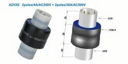 A2V2S- High Voltage Four Conductor Slip Ring