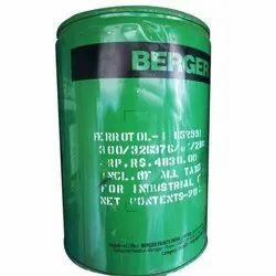 Matt Silver Berger Ferrotol HR Aluminium Paint, Liquid, Packaging Size: 20 Ltr