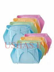 Multicolor Newborn Baby Hosiery Cotton Cloth Nappies Langot