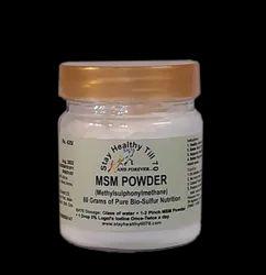 MSM (MethylSulphonylMethane) Powder, Non prescription, 10 X 10 X 10 Cm
