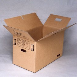 Brown Rectangular Industrial Packaging Carton Box, Weight Holding Capacity (Kg): 11 - 25 Kg