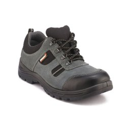 Everest Grey Sporty Safety / Industrial Shoes