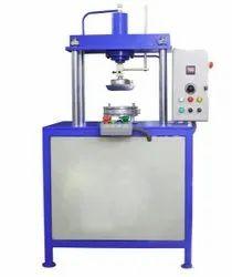 Single Die Semi Automatic Hydraulic Paper Plate Machine