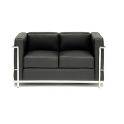 Sybaritic Mix Color's 2 Seater Stainless Steel Sofa, For Home, Living Room
