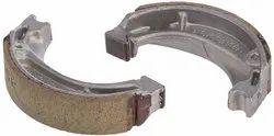 SRL 2 Piece Two Wheeler Brake Shoe, Packaging Type: Carton Box