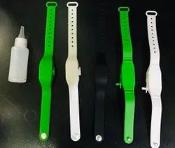 Refillable Silicone Wristband for Hand Sanitizer
