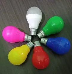 Round 9W COLOR BULB, For Decoration