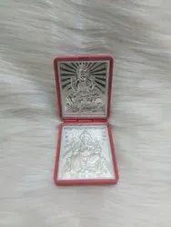 Acrylic Silver Coin Dabbi