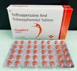 Trifluoperazine And Trihexyphenidyl Tablets