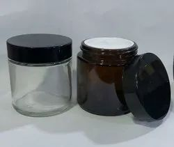 100 gm Amber Glass Jars