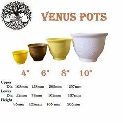 VENUS PLASTIC PLANTERS