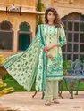 Low Range Pure Lawn Cotton Unstitched Dress Material -10 Pcs Set