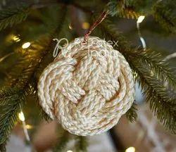Stylish Macrame Christmas Ball