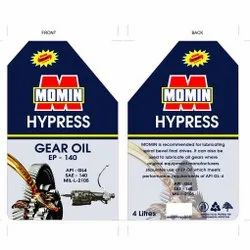 Oil and Lubricant Labels