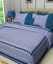 Jaipuri Hand Block Printed Bed Sheet