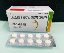 Etizolam & Escitalopram Tablets