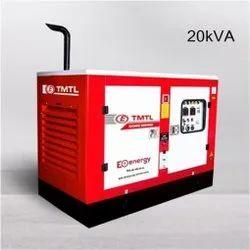 20 KVA Eicher TMTL Silent Diesel Generator